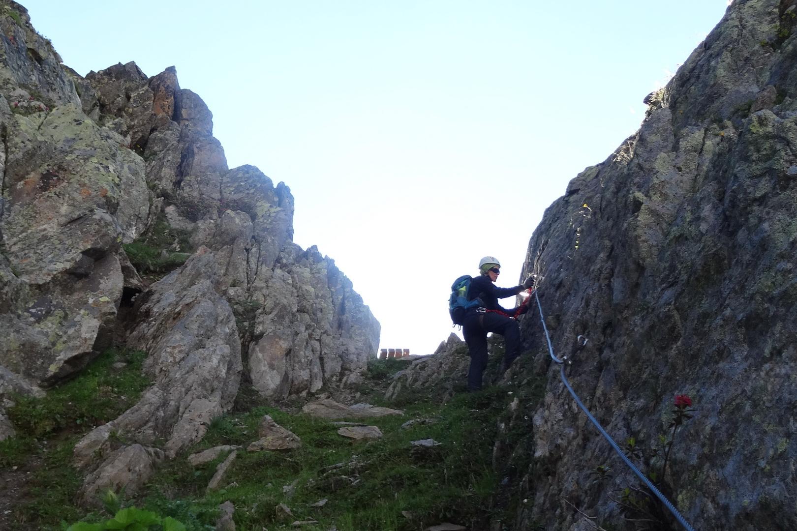 Klettersteig Für Anfänger : Klettern im kleinwalsertal klettersteige bergabenteuer