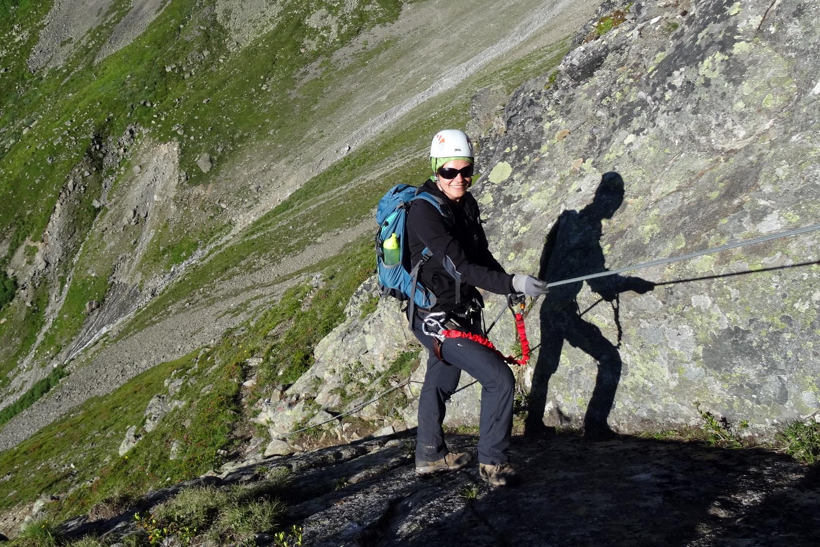 Klettersteig Oostenrijk : Einfacher klettersteig kleinbärenzinne im pitztal tirol