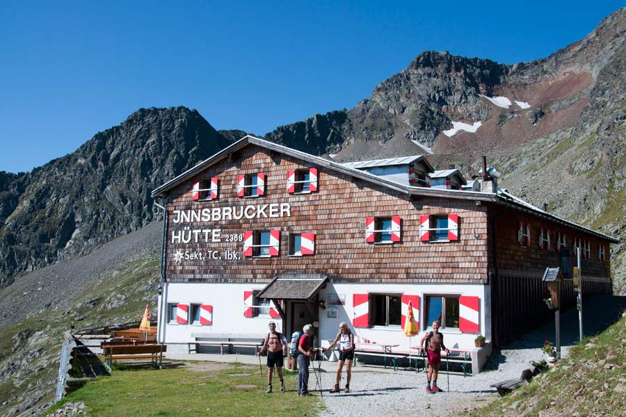 Klettersteig Ilmspitze : Klettersteig ilmspitze innsbrucker hütte