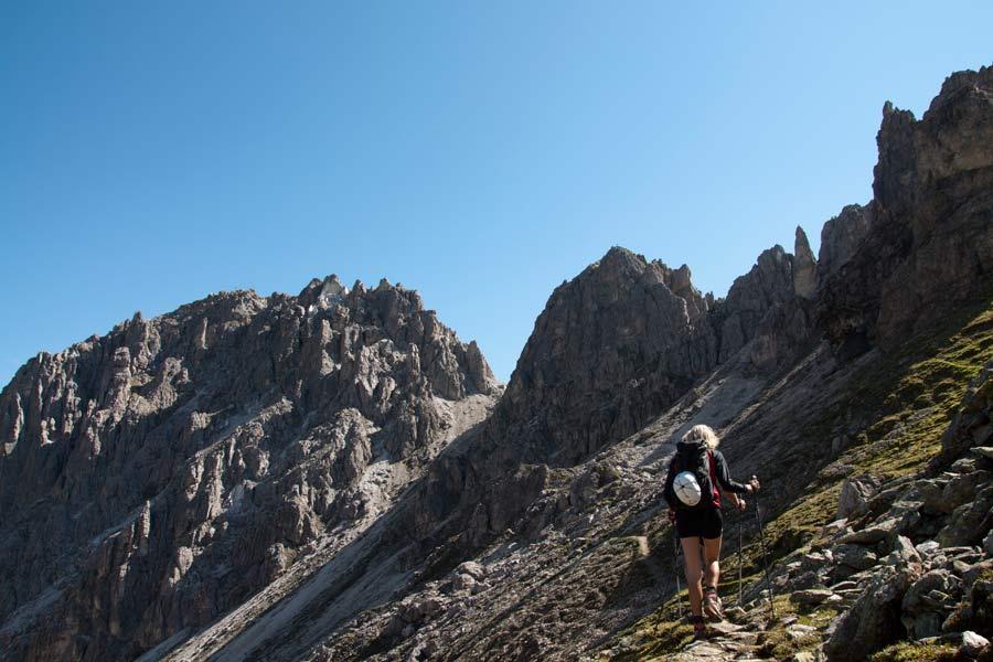 Klettersteig Tegernseer Hütte : Klettersteig ilmspitze innsbrucker hütte