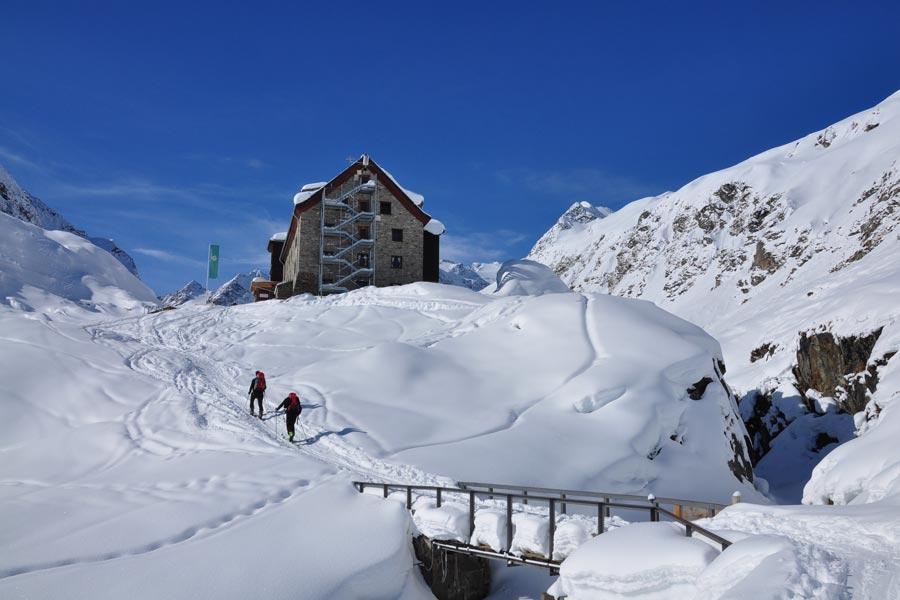 Verlängertes Skiwochenende vom 10. - 12.03.2017 in den Stubaier Alpen
