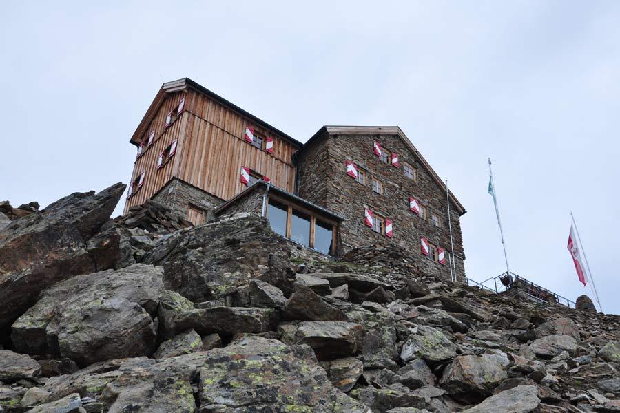 Klettersteig Obergurgl : Hüttenwanderung ramolhaus von obergurgl Ötztal
