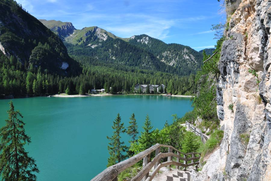 how to get to pragser wildsee