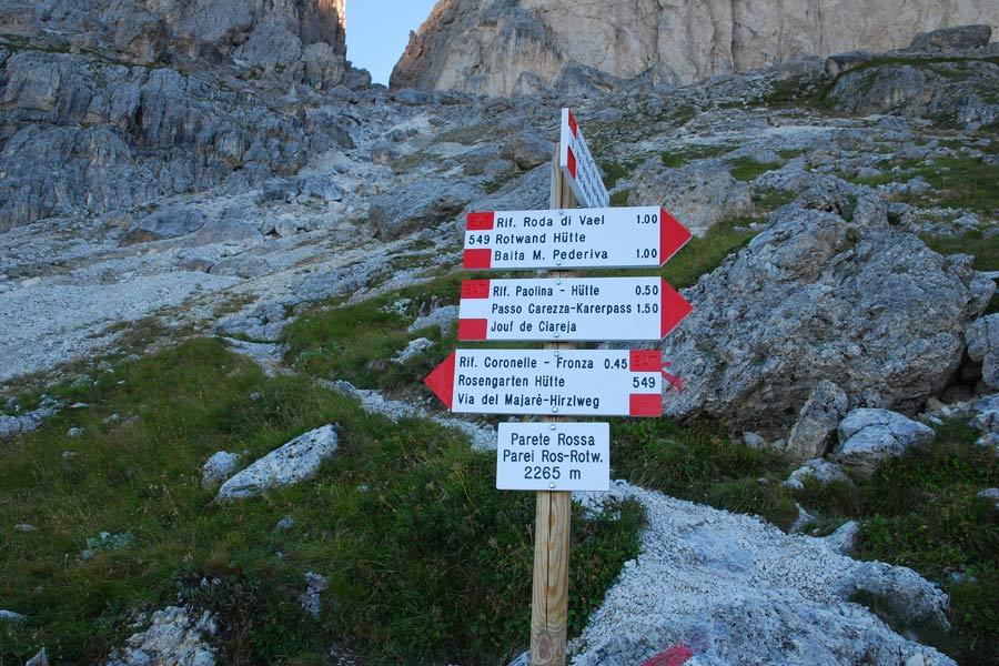 Klettersteig Rotwand : Klettersteig rotwand Überschreitung masare