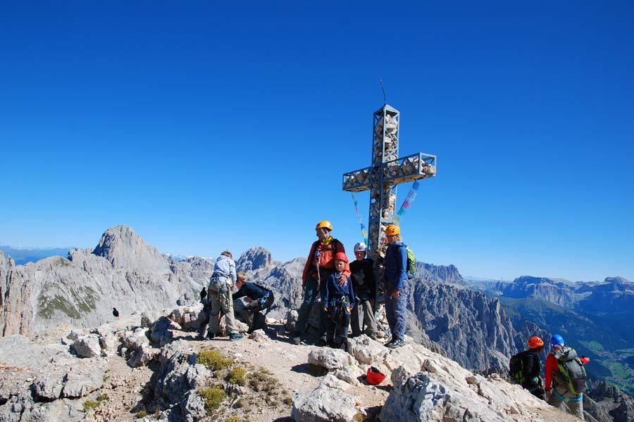 Klettersteig Rotwand : Klettersteig rotwand rosengarten obereggen youtube