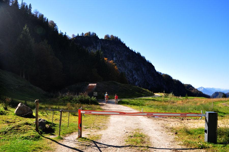 Klettersteig Walchsee : Haraualm von walchsee winkl