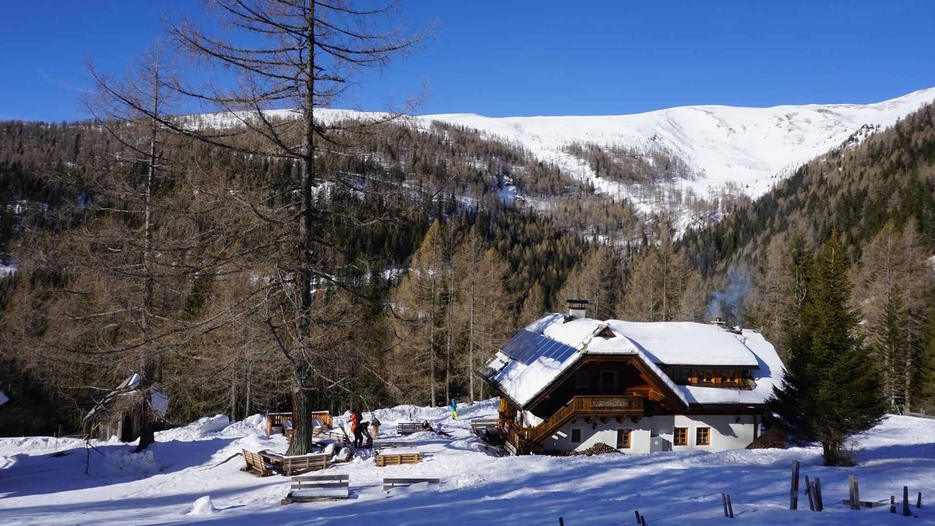 Klettersteig Falkert : Dreifaltigkeit klettersteig