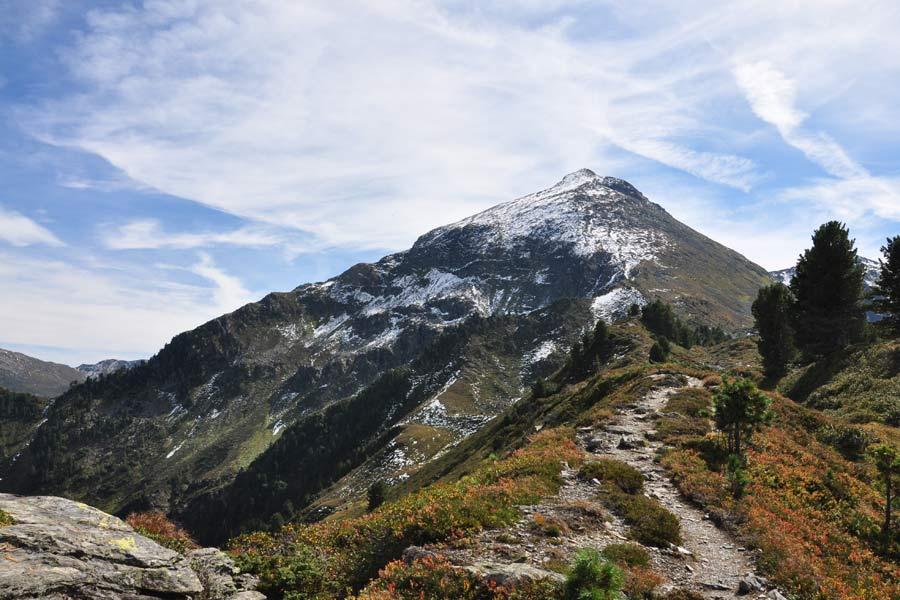 Bergtour Großer Galtenberg von Inneralpbach im Alpbachtal