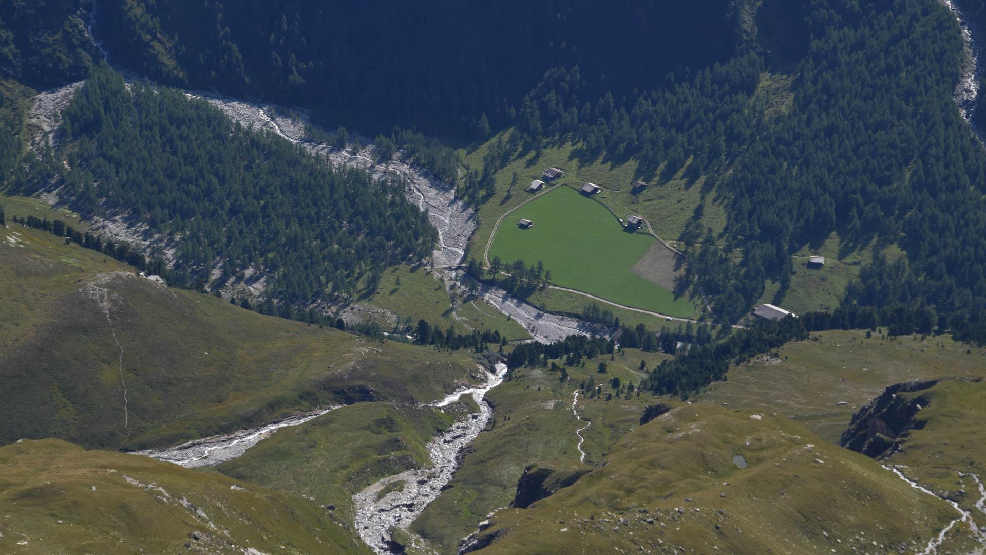 Bergtour Großer Muntanitz von Glanz