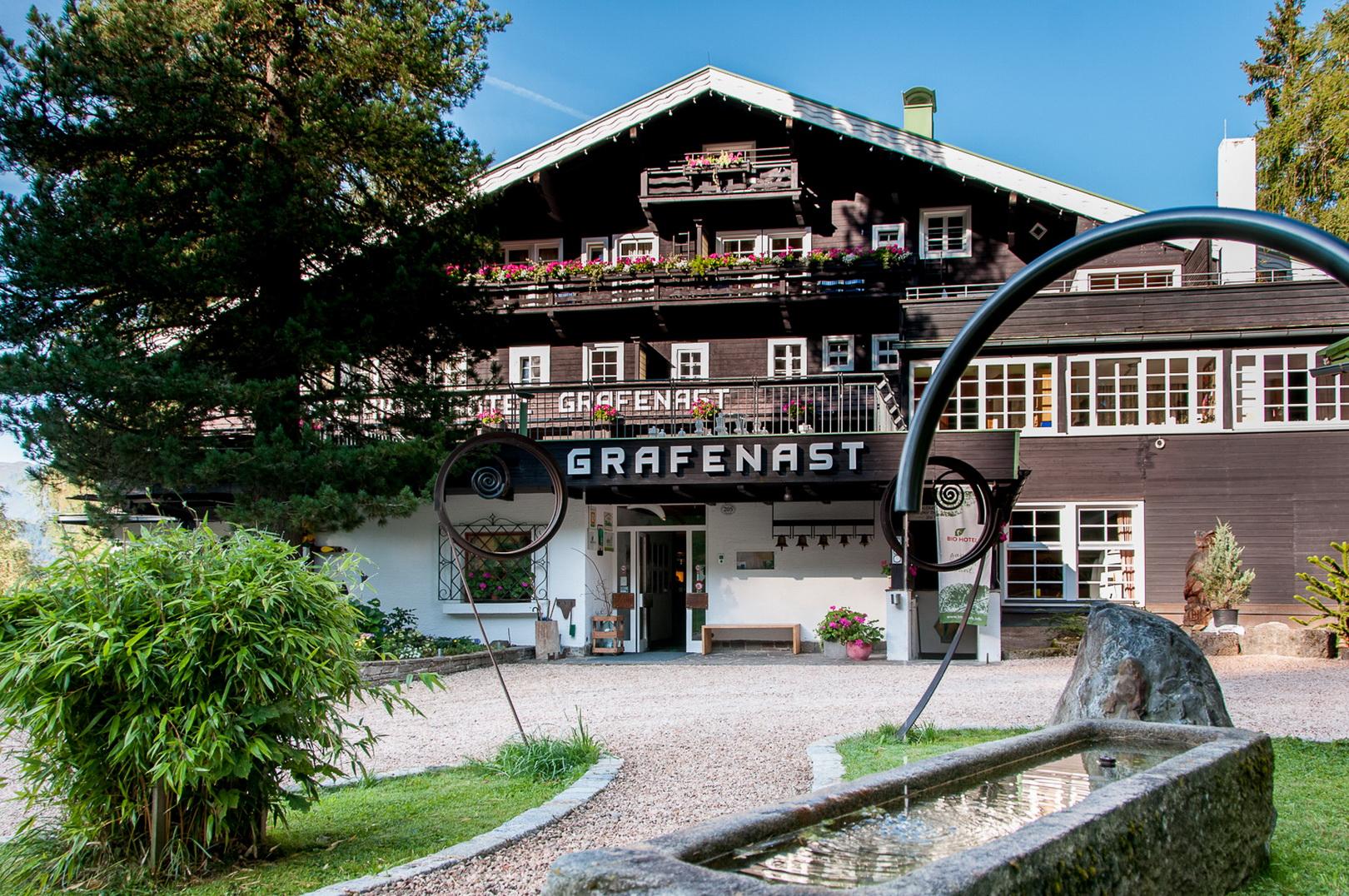 Bio- & Vitalhotel Grafenast in Tirol