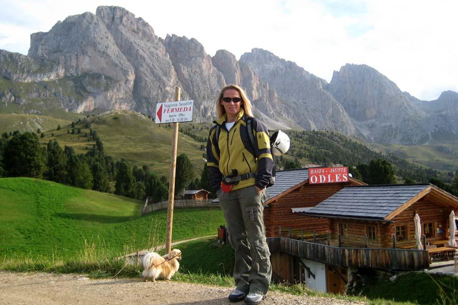 Klettersteig Wolkenstein : Wanderung regensburger hütte von wolkenstein