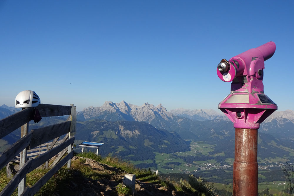 Klettersteig Kitzbüheler Horn : Kitzbüheler horn von st johann radio tirol