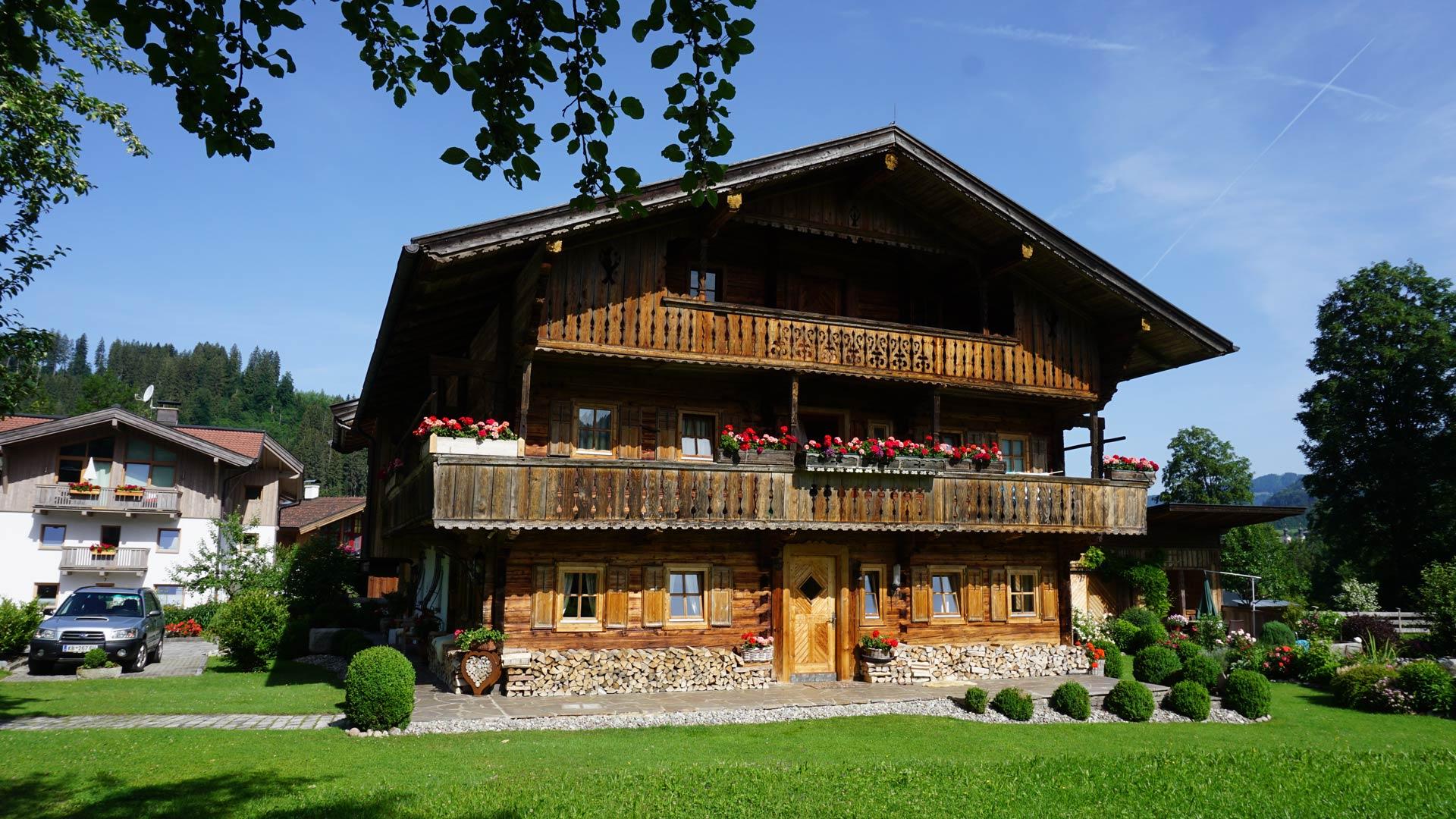 Weberhusl - Hopfgarten im Brixental - in den Kitzbheler Alpen