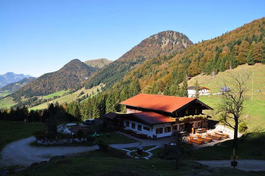 Klettersteig Ottenalm : Ottenalm von walchsee winkl