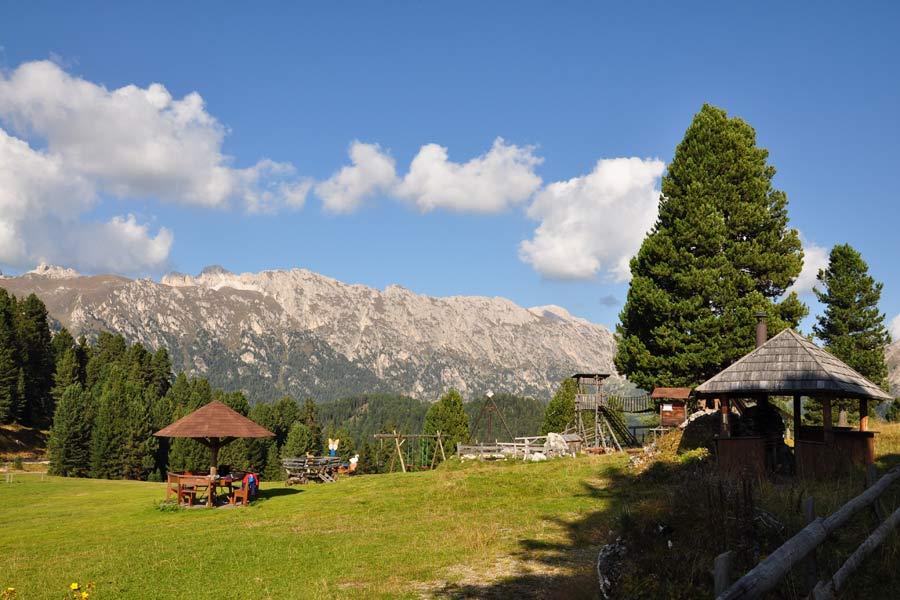 Sass Rigais Klettersteig Villnöss : Sass rigais aus dem villnösser tal