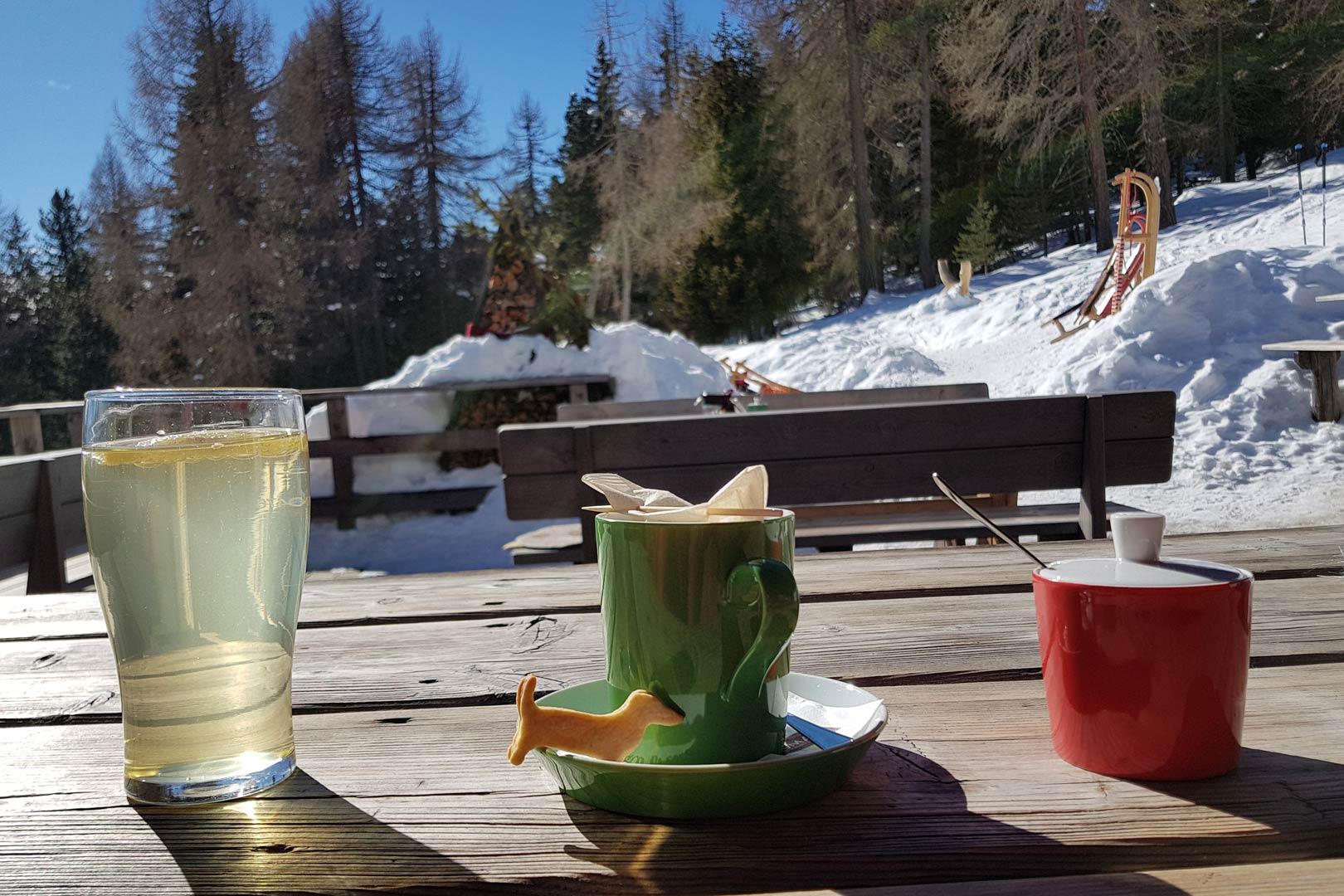 Rodelbahn - Winterwanderweg Welschellener Alm