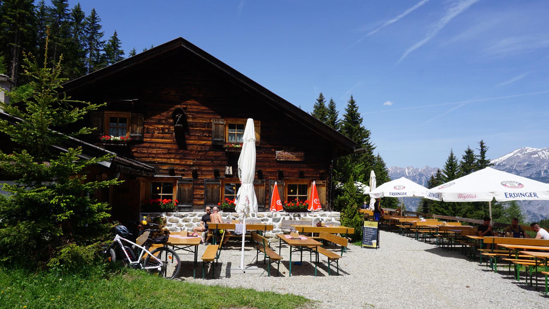 Skitour Nockspitze (Saile, 2404m) von Gtzens - Almenrausch