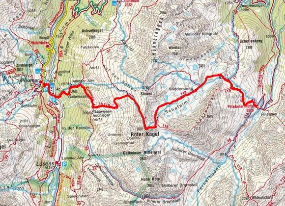 Sellrainer Hufeisentour (6 Etappen) - Tag 2