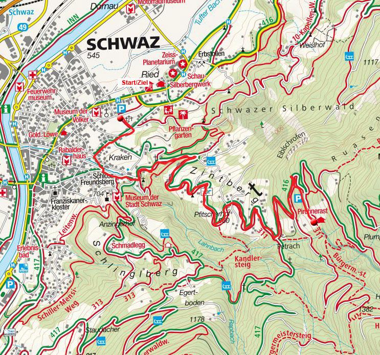 Alpengasthof Pirchnerast von Schwaz