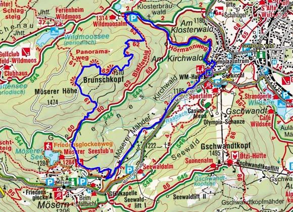 Seefeld Tirol Karte
