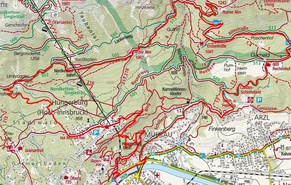 Nordketten-Almenrunde von Innsbruck
