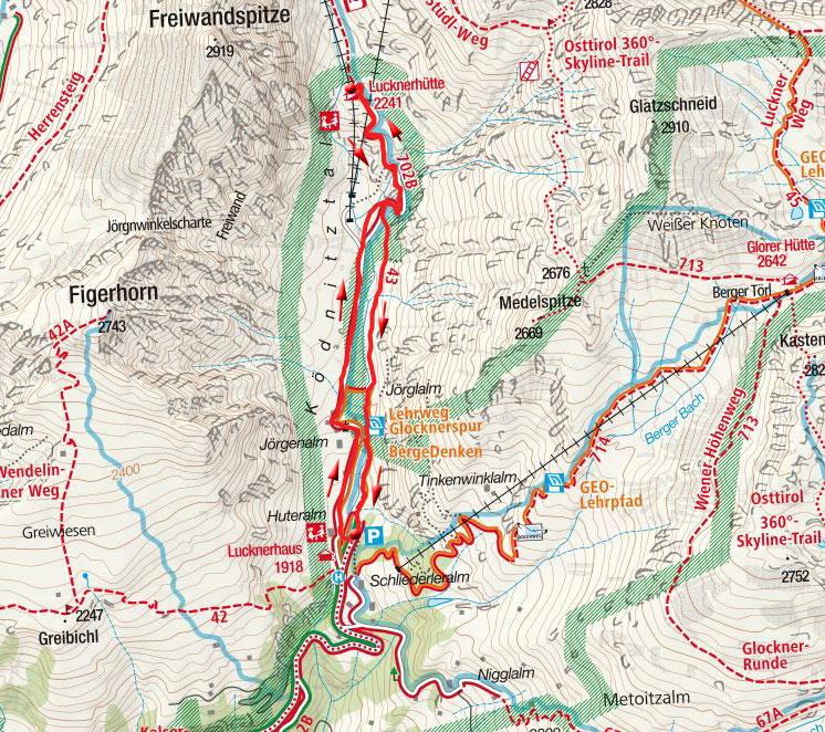 Lucknerhütte (2241m) aus dem Glocknerwinkel