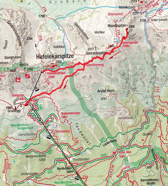 Mandlspitze (2366m) vom Hafelekar