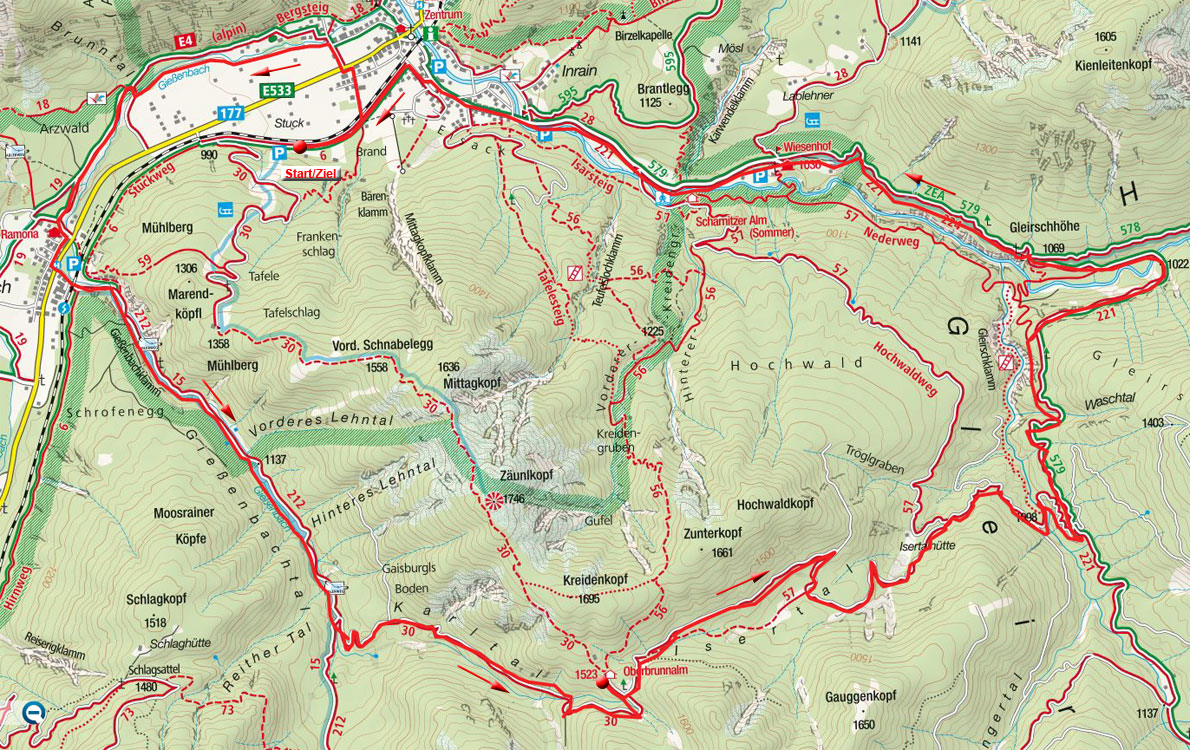 Scharnitz - Oberbrunnalm