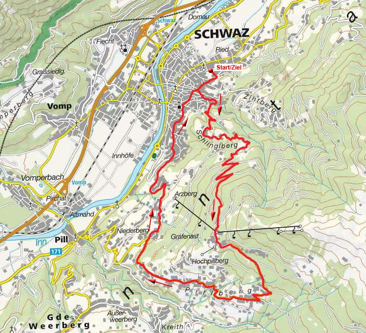 Schwazer Panoramarunde Grafenast