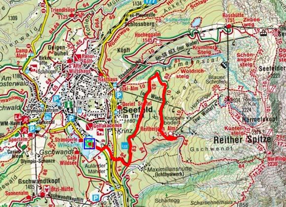Seefeld - Reitherjochalm