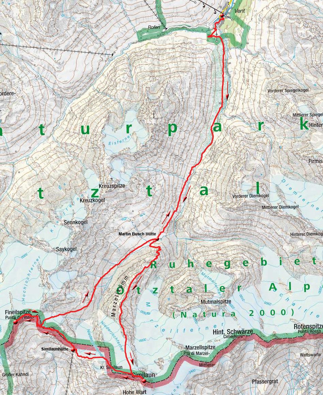 Auf Ötzis Spuren – 3 Tages Gletscher Hochtour