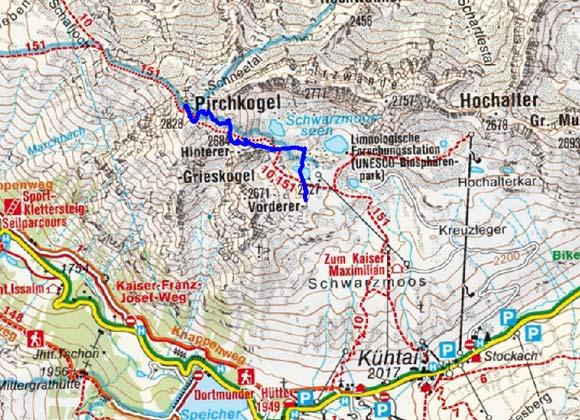 Pirchkogel (2828 m) von Kühtai